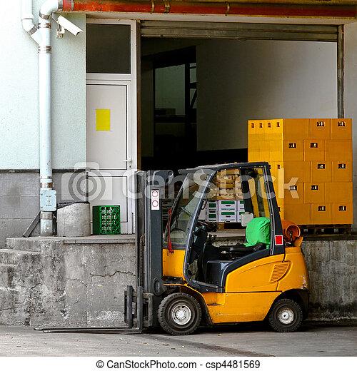 Forklift - csp4481569