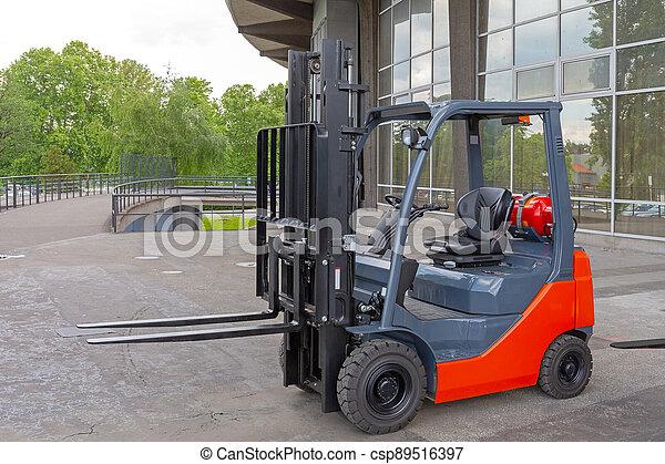 Forklift - csp89516397
