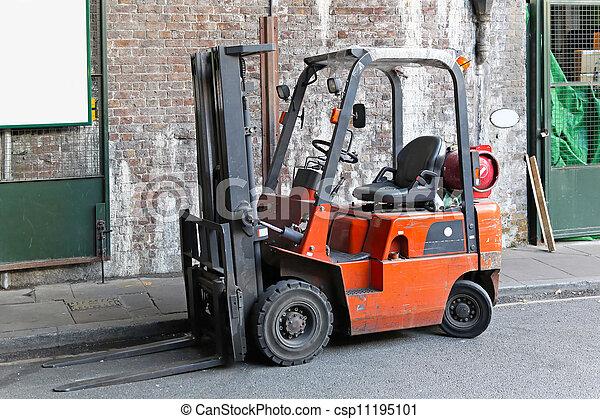 Forklift - csp11195101