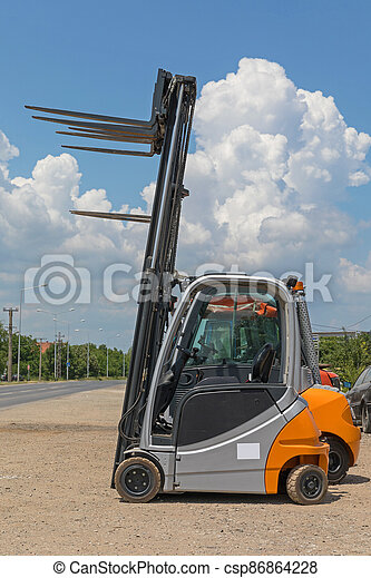 Forklift Truck Cabin - csp86864228