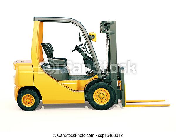 Forklift truck - csp15488012