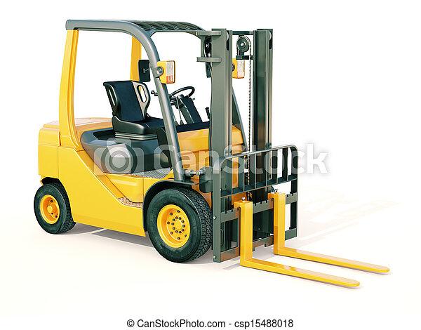 Forklift truck - csp15488018