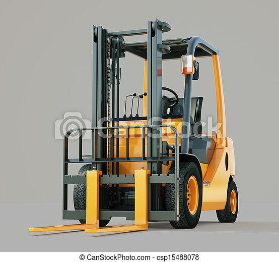 Forklift truck - csp15488078