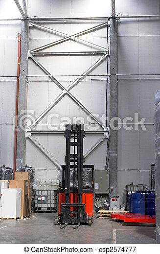 forklift truck - csp2574777