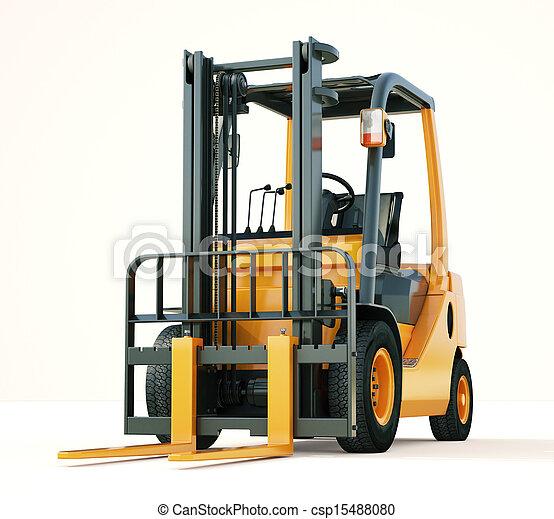 Forklift truck - csp15488080