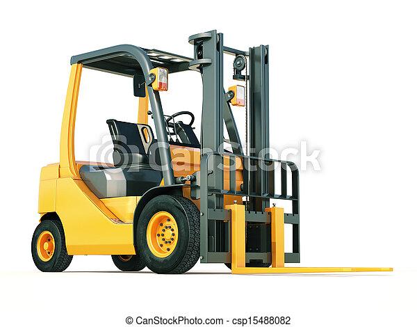 Forklift truck - csp15488082