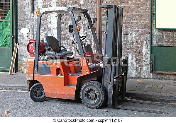 Forklift Truck - csp91112187