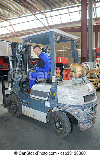 forklift truck - csp33130360