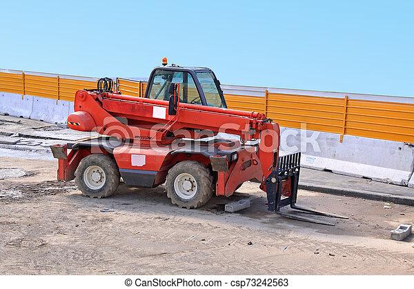 Forklift Truck - csp73242563