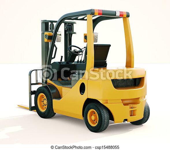 Forklift truck - csp15488055