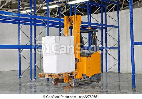 Forklift truck - csp22760651