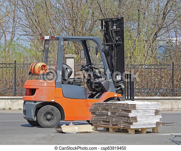 Forklift Truck - csp63919450