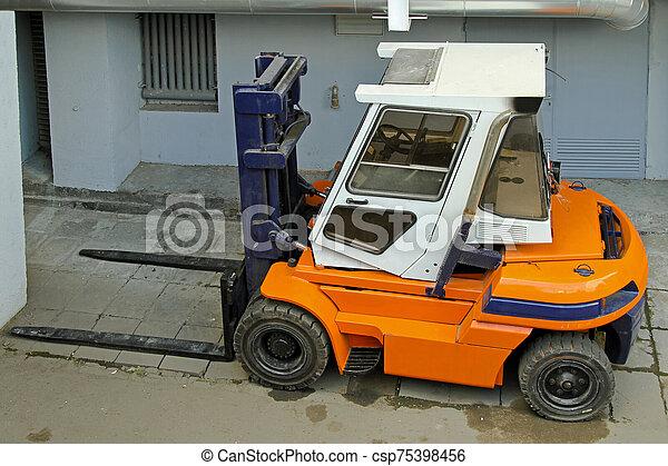 Forklift Truck - csp75398456