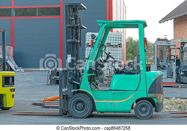 Forklift Truck - csp86487258