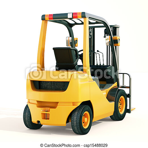 Forklift truck - csp15488029