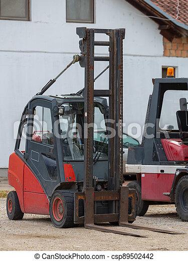 Forklift Truck - csp89502442