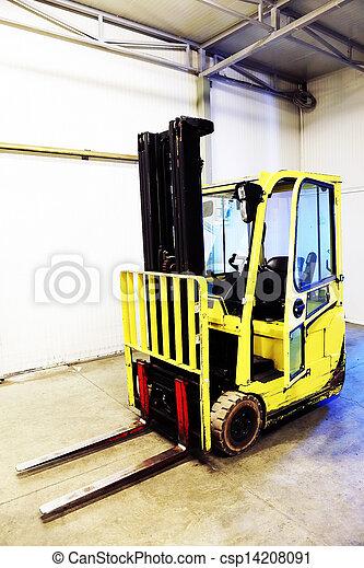 Forklift Truck - csp14208091