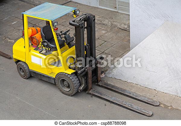 Forklift Truck - csp88788098