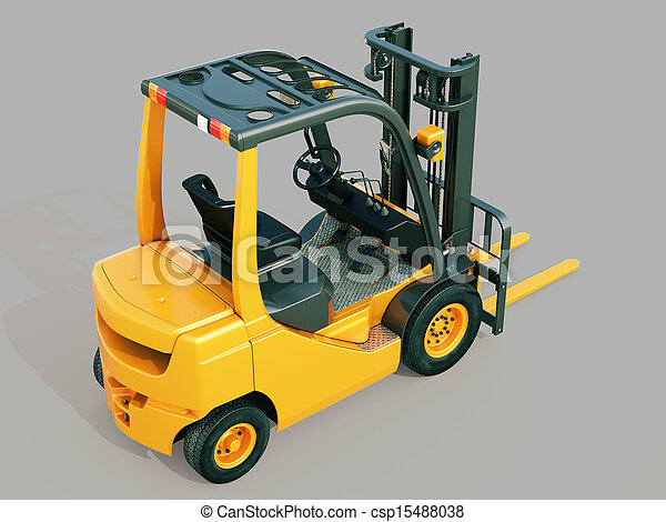 Forklift truck - csp15488038
