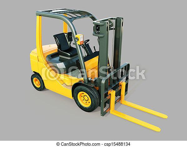 Forklift truck - csp15488134
