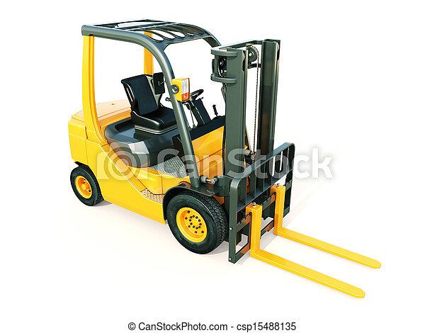 Forklift truck - csp15488135