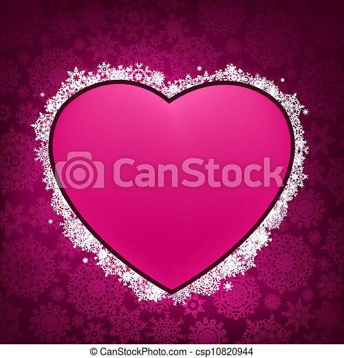 forma, 8, cornice, heart., eps - csp10820944