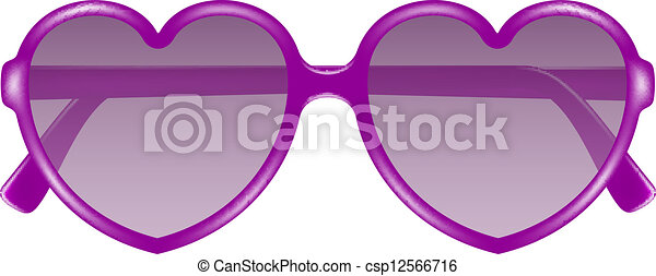 367a75bdfc Forma corazón, anteojos, sol. Corazón, púrpura, sol, forma, diseño ...