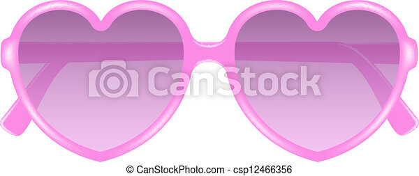 3953bd6c88 Forma corazón, anteojos, sol. Rosa, corazón, sol, forma, diseño ...