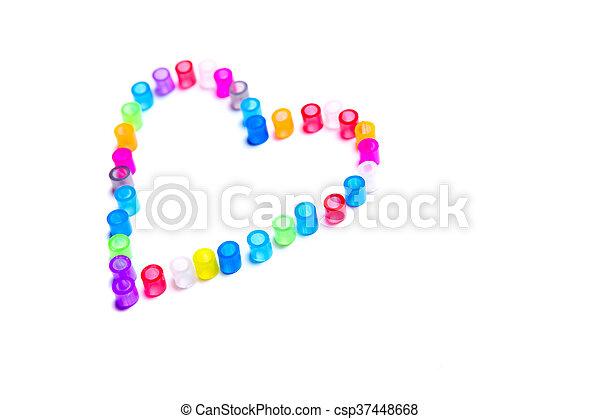 Forma de corazón - csp37448668