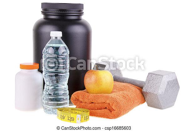 Un estilo de vida saludable - csp16685603
