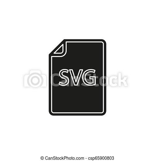 formaat, svg, symbool, -, vector, bestand, downloaden, document, pictogram - csp65900803