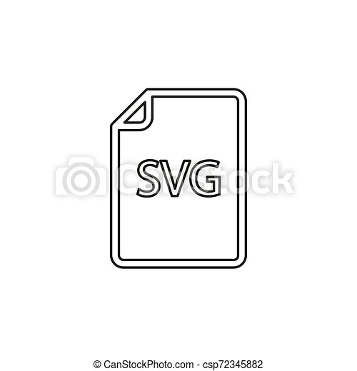 formaat, svg, -, vector, bestand, downloaden, document, pictogram - csp72345882