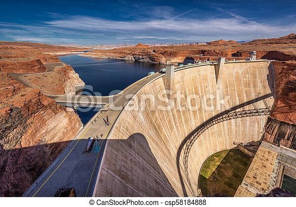 Formaciones americanas del desierto - csp58184888