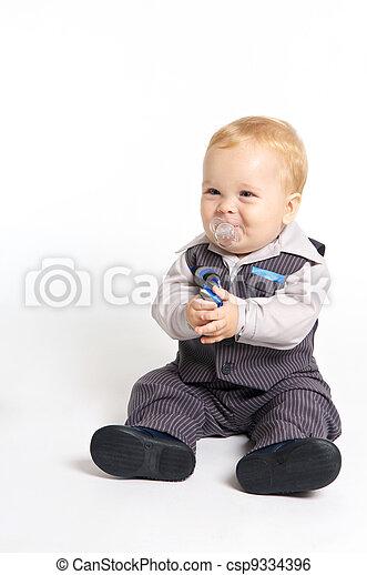Formal baby - csp9334396