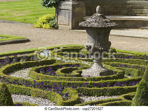 Formal garden - csp27201627