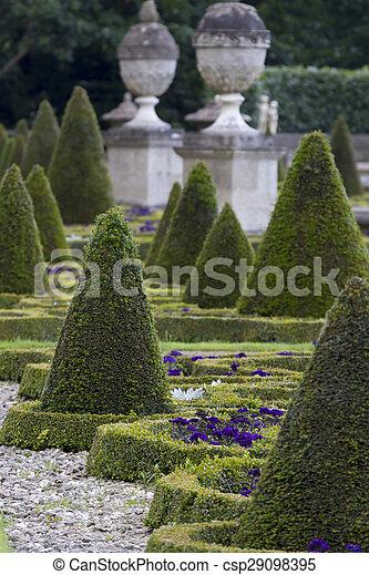 Formal garden - csp29098395
