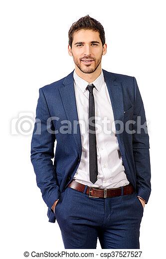 formal suit - csp37527527