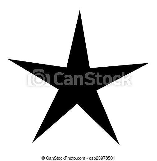 forme, étoile - csp23978501