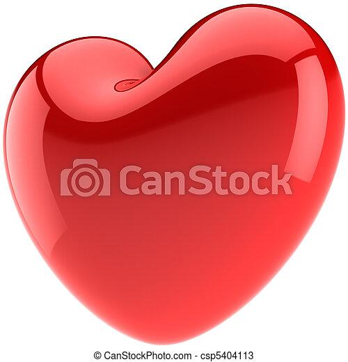 forme coeur, amour, valentin - csp5404113