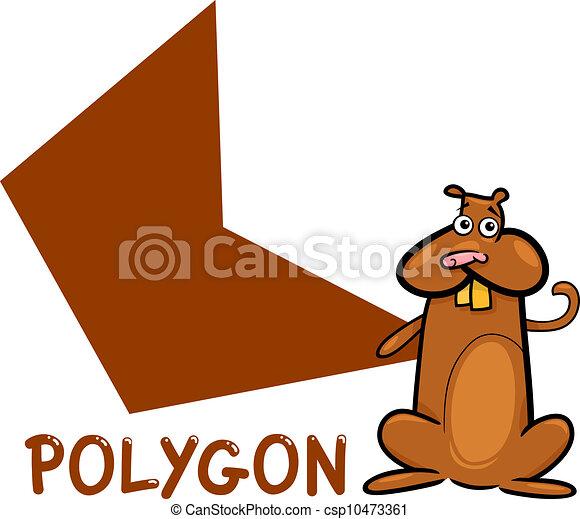 Forme hamster dessin anim polygone rigolote polygone - Hamster dessin anime ...