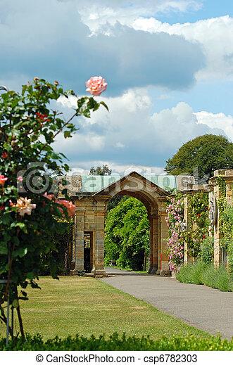 formel, château, jardin, arundel - csp6782303