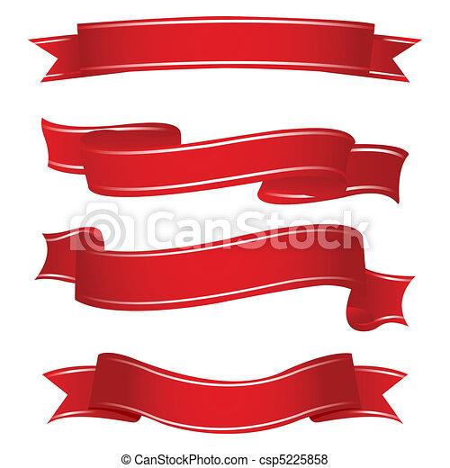formen, bänder - csp5225858