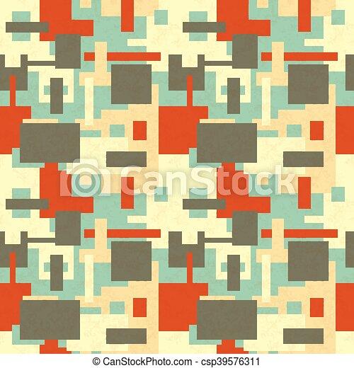 Retro Farben.Formen Farben Abstrakt Retro Farben Muster Abstrakt