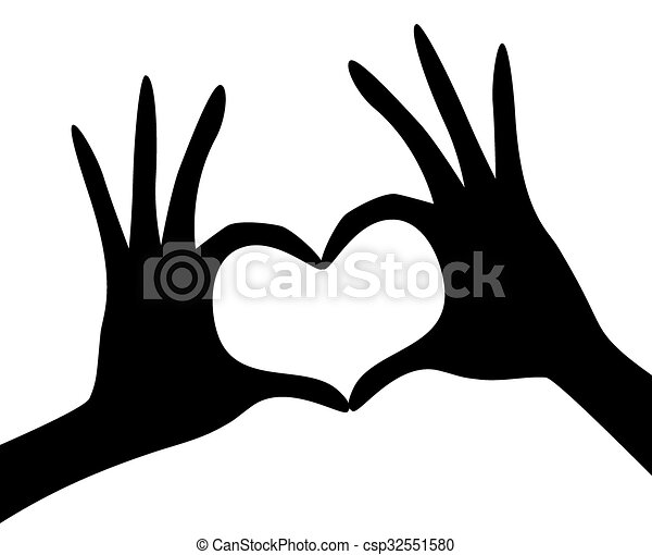 Former forme main coeur forme coeur main former - Dessin 2 mains ...