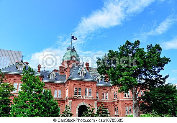 Former Hokkaido Government Office Building. - csp10785685