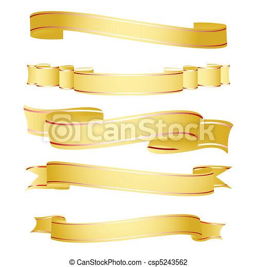 formes, ruban - csp5243562