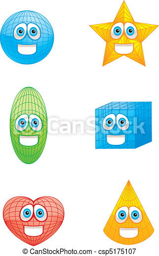 formes, sourire - csp5175107