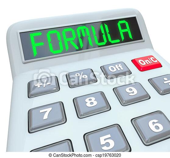 Formula word calculator math problem figure answer. Formula word on ...