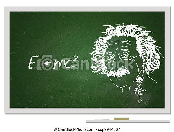 formule, e=mc2/ - csp9944567