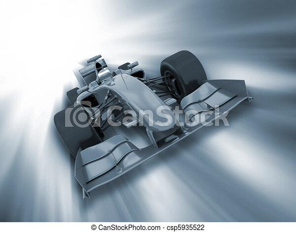formule, voiture - csp5935522